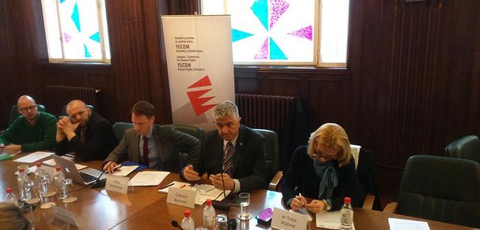 Izveštaj sa radnog sastanka povodom predstavljanja finalne verzije Akcionog plana za sprovođenje prava nacionalnih manjina