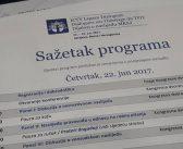 Konferencija Dijalozi o naslijeđu MKSJ – Sarajevo 22.-24. jun 2017