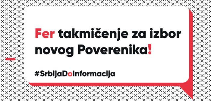 Što pre pokrenuti transparentan izbor novog Poverenika za informacije od javnog značaja i zaštitu podataka o ličnosti