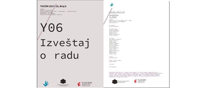 YUCOM 2017–18 Izveštaj o radu