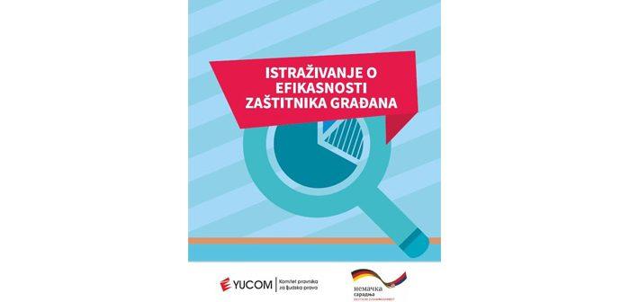 Istraživanje o efikasnosti Zaštitnika građana
