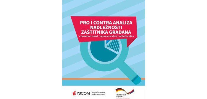 Pro i Contra analiza nadležnosti Zaštitnika građana