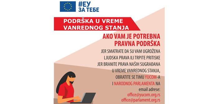 Pravna podrška #EUzaTEBE