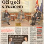Oci u oci sa Vucicem (Blic, 12.05.2015.)