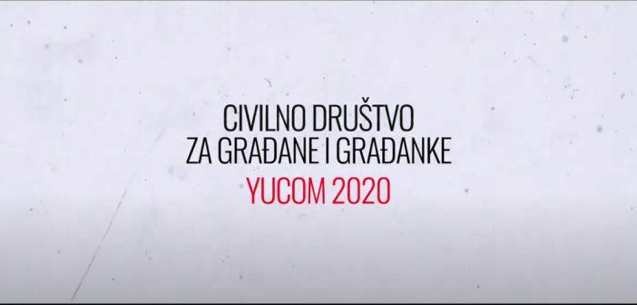Kampanja Civilno društvo za građanke i građane – YUCOM 2020