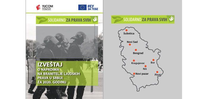 IZVEŠTAJ O NAPADIMA NA BRANITELJE LJUDSKIH PRAVA U SRBIJI ZA 2020. GODINU